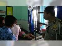 Motor Tabrak Pejalan Kaki di Kepohbaru Bojonegoro, 2 Orang Luka Berat