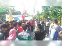 Aliansi Mahasiswa di Bojonegoro Tolak People Power