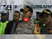 Polres Bojonegoro Gelar Razia Penumpang Kereta Api, Cegah Mobilisasi Massa People Power