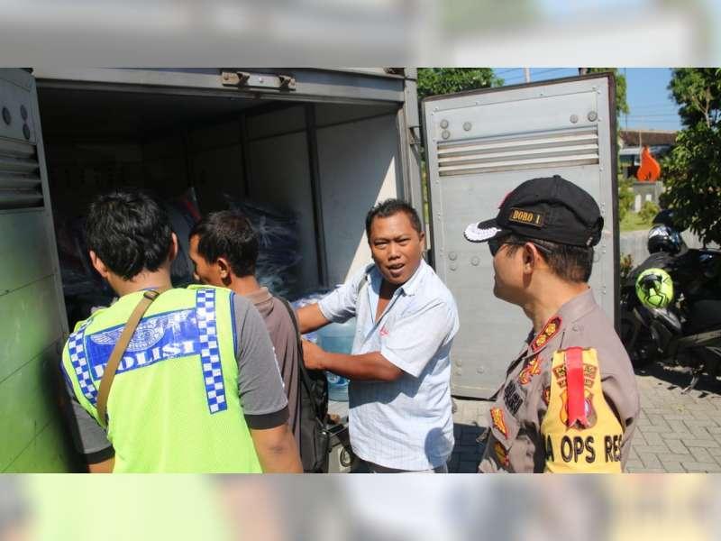 Antisipasi People Power, Polres Bojonegoro Kembali Lakukan Penyekatan Jalur Menuju Jakarta