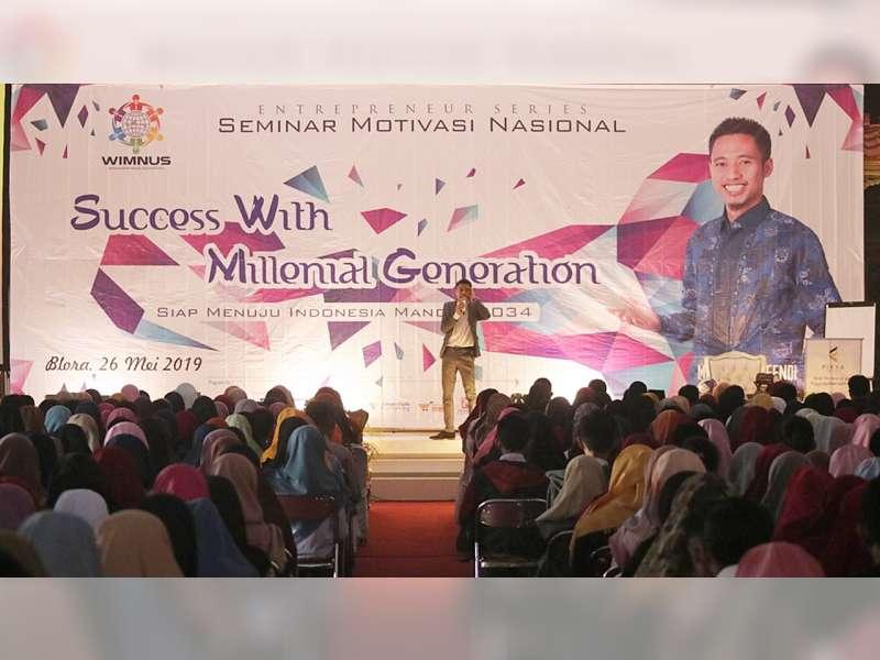 Wimnus Jateng Gelar Seminar Motivasi Nasional di Blora