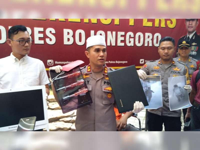 Polres Bojonegoro Tangkap Seorang Pelaku Pencurian, Spesialis Rumah Sakit