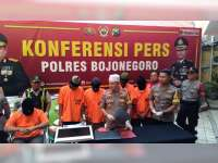 Polres Bojonegoro Tangkap Seorang Pengedar Narkotika Jenis Sabu-Sabu