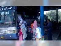 Penumpang dari Terminal Rajekwesi Bojonegoro pada H+2 Alami Peningkatan