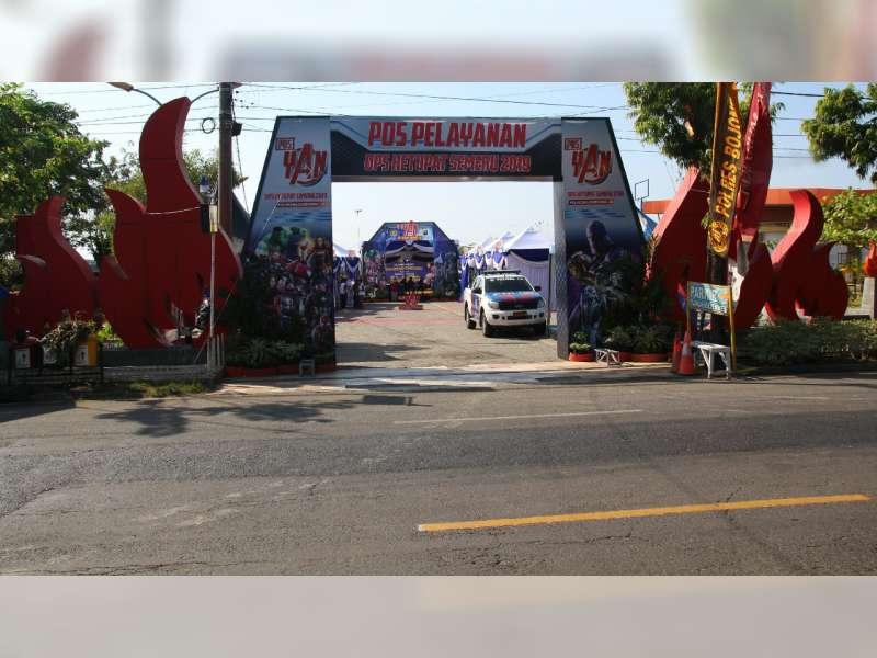 Banyak Pemudik yang Manfaatkan Pos Pelayanan Taman Rajekwesi Bojonegoro