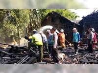 4 Rumah Warga Kedungadem Bojonegoro Terbakar, Kerugian Capai Rp 255 Juta