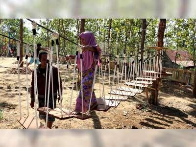Wahana Wisata Waduk Selo Parang Blora, Destinasi Wisata Pilihan Libur Lebaran