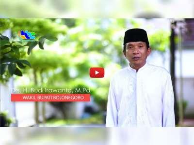 Wakil Bupati Bojonegoro Sampaikan Ucapan Selamat Idulfitri 1440 H