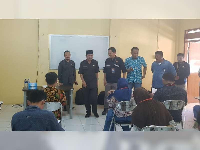 Wakil Bupati Bojonegoro Tinjau Pelaksanaan Tes Tulis Apprentice Program Calon Operator JTB