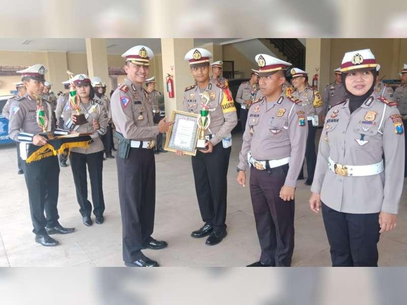 Pos Pengamanan Operasi Ketupat Semeru 2019 Polres Bojonegoro Raih Juara 1