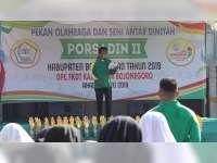 Wakil Bupati Bojonegoro Hadiri Pembukaan Pekan Olahraga dan Seni antar Diniyah
