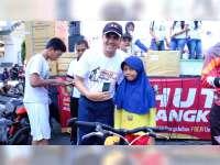 Lahir 1 Juli, Bocah Ini Dapat Sepeda Gratis, Jalan Santai yang Digelar Polres Bojonegoro