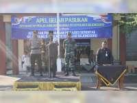 Wakil Bupati Bojonegoro Pimpin Apel Gelar Pasukan Pengamanan Pilkades Serentak 2019