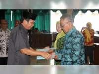 36 ASN di Lingkungan Pemkab Bojonegoro Terima SK Pensiun