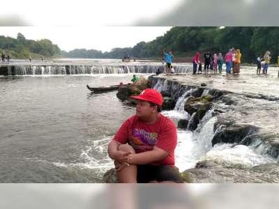 Air Terjun 'Niagara Mini' Kracakaan di Ngloram Blora, Mulai Ramai Didatangi Pengunjung