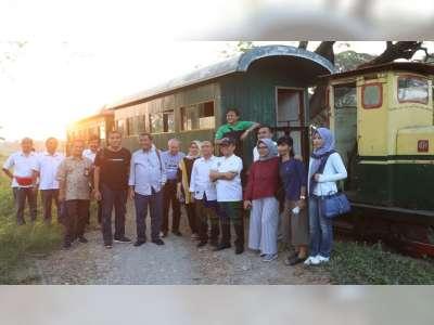 Sekjen Kemendes PDTT Dukung Pengembangan Wisata Heritage Loco Tour Cepu Blora