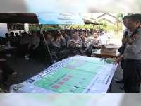 Polres Bojonegoro Gelar Simulasi TWG dan TFG, Pengamanan Pilkades Serentak 2019