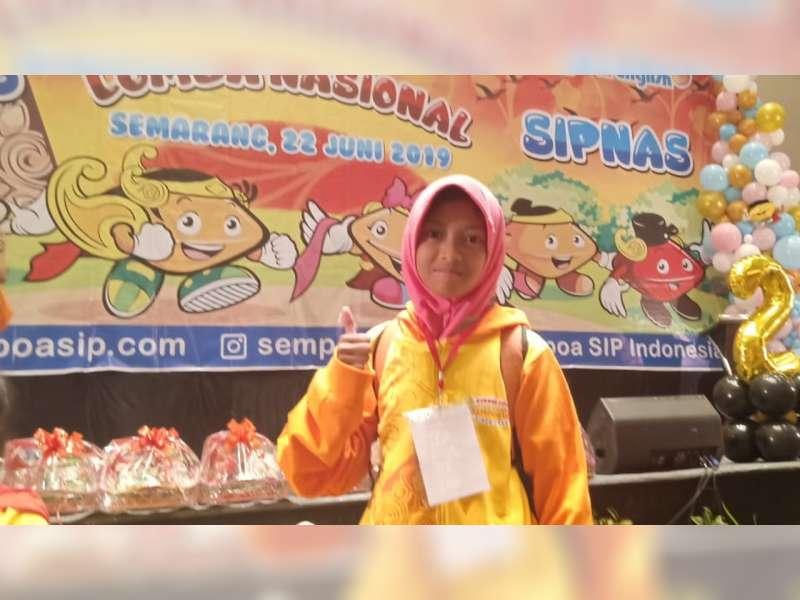 Talenta Kartika Putri, Pelajar SD Asal Blora Peraih Juara 3 Lomba Sempoa Tingkat Nasional