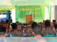 Hadiri Halal Bihalal, Bupati Bojonegoro Ajak Warga Jaga Silaturahmi dan Kedamaian