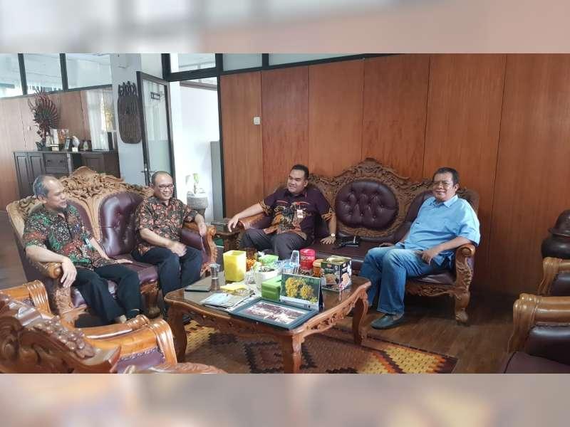 Bahas Konsep Pembangunan Blora Perbatasan, Wakil Bupati Blora Temui Dekan UGM Yogyakarta