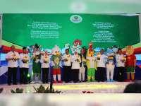 Bupati Bojonegoro Hadiri Launching Logo dan Maskot Porprov Jatim 2019