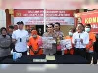 Satgas Anti Judi Polres Bojonegoro Amankan Tiga Orang Pelaku Judi Pilkades