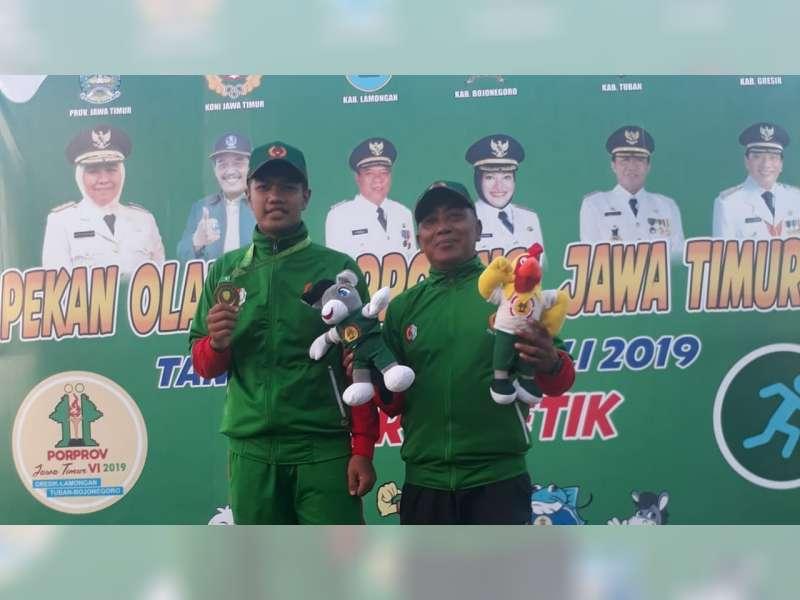 Atlet Porprov Kabupaten Bojonegoro dari Cabor Atletik, Kembali Sumbangkan Empat Medali