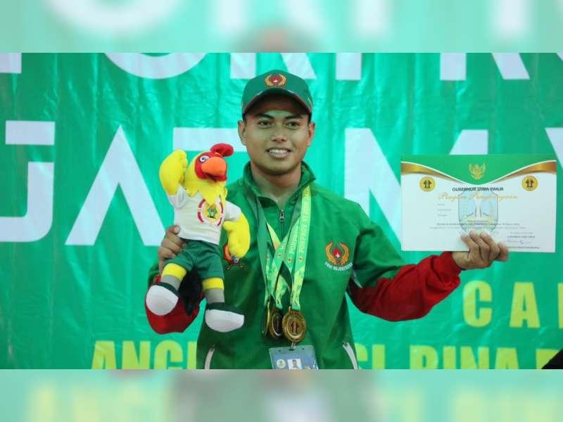Atlet Angkat Besi Bojonegoro Sumbang 11 Medali di Porprov Jatim 2019
