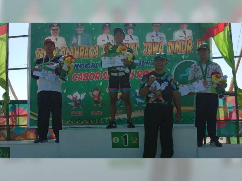 Atlet Sepatu Roda Porprov Bojonegoro Kembali Sumbang Medali Perunggu