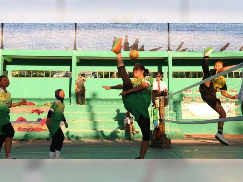 Tim Sepak Takraw Putri Porprov Bojonegoro Lolos ke Final, Dipastikan Raih Satu Medali