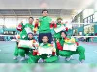 Tim Sepak Takraw Nomor Quadrant Putri Porprov Bojonegoro, Sumbang Satu Medali Perak