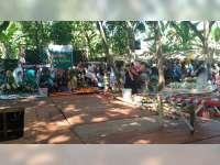 Gebyar Festival Lontong Kikil Digelar di Jembatan Sosrodilogo Trucuk Bojonegoro