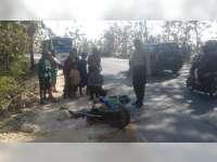 Bus Tabrak Motor di Margomulyo Bojonegoro, Pengendara Motor Meninggal Dunia