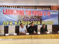 Wakil Bupati Blora Hadiri Launching Tim Futsal U-19 AFK Blora