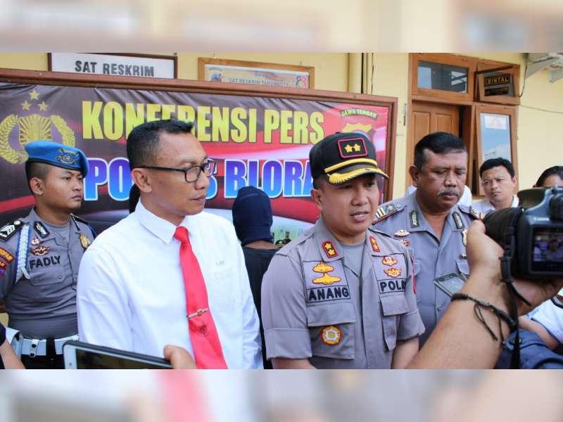 Polres Blora Berhasil Ungkap Kasus Pembunuhan Mayat yang Ditermukan di Hutan Randublatung