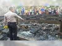 Kandang Kambing Milik Warga Kapas Bojonegoro Terbakar, 14 Ekor Kambing Terpanggang Api