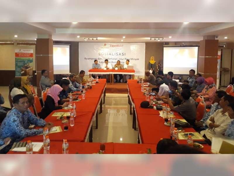EMCL Sosialisasi Keselamatan Jalur Pipa Minyak pada 17 Desa di Bojonegoro