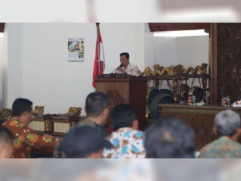 Pemkab Bojonegoro Gelar Pembinaan Kepala Desa, Sinkronisasi Program Pemkab dengan Pemdes