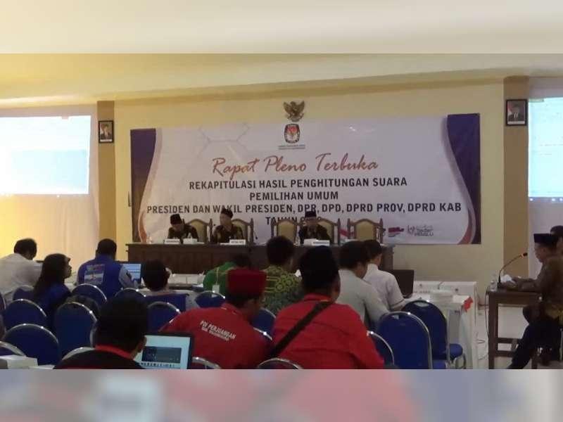 Penetapan Perolehan Kursi dan Anggota DPRD Bojonegoro Dilaksanakan 22 Juli 2019