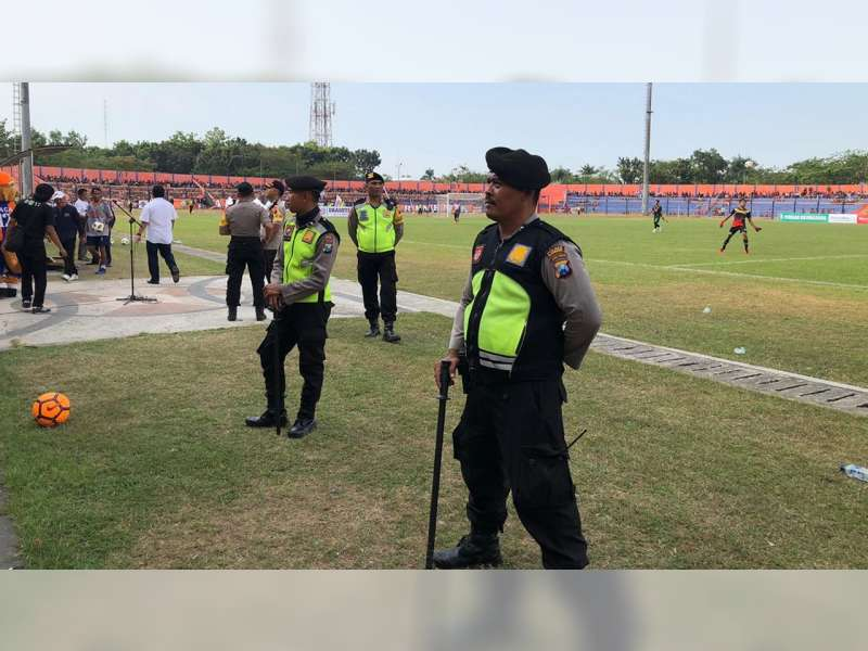 Polisi Beri Pengamanan Maksimal, Laga Uji Coba Persibo Bojonegoro Vs Arema Malang United
