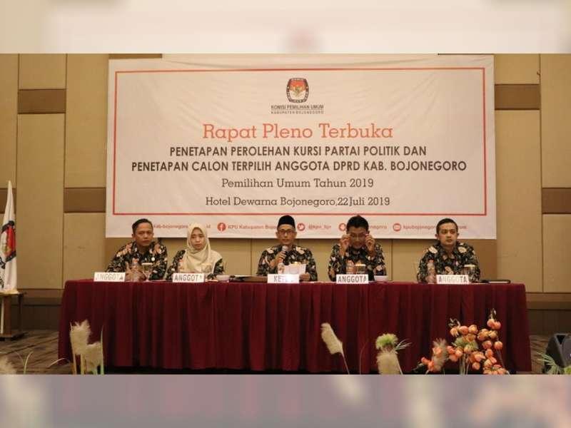 Berikut Ini Anggota DPRD Kabupaten Bojonegoro Terpilih dalam Pemilu 2019