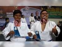 Dua Atlet Bojonegoro Sukses Raih Medali di Kejurnas Judo Kartika Cup XII di Yogyakarta