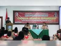 Wabup  Bojonegoro Hadiri Pembinaan Organisasi Kepramukaan di Dander