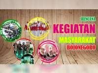 Rencana Kegiatan Masyarakat Bojonegoro, 01 Agustus 2019