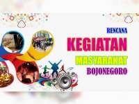 Rencana Kegiatan Masyarakat Bojonegoro, 03 Agustus 2019
