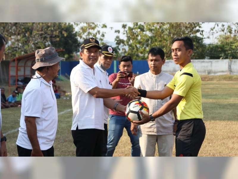 Kompetisi Internal Divisi Utama PSSI Askab Bojonegoro Dibuka Wakil Bupati