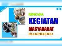 Rencana Kegiatan Masyarakat Bojonegoro 12 Agustus 2019