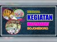 Rencana Kegiatan Masyarakat Bojonegoro 13 Agustus 2019
