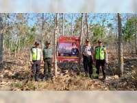 Kapolsek Purwosari Bojonegoro Ajak Masyarakat Cegah Kebakaran Hutan dan Lahan