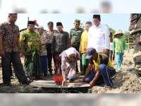 Bupati Bojonegoro Hadiri Peletakan Batu Pertama Pembangunan Masjid Al Muttaqin di Ngasem
